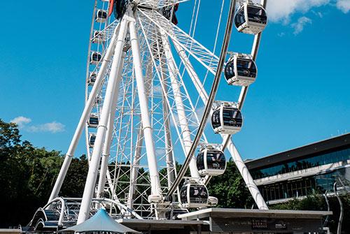 Ferris Wheel in Southbank, Brisbane.