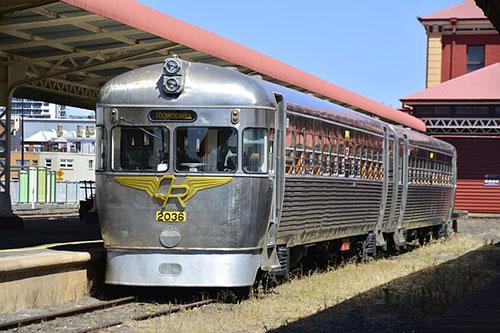 Train in Toowoomba.